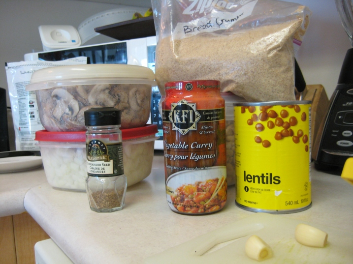 lentil burger ingredients